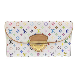 LOUIS VUITTON multicolored Portofeuil Eugenibron white M60053 leather wallet