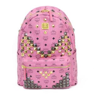 MCM Luc Daypack Pink Ladies