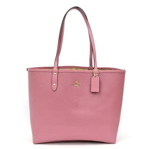COACH Coach Tote Bag Reversible Flower Rose Signature Pink Ladies