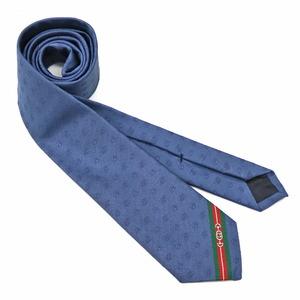 GUCCI Gucci tie navy men's