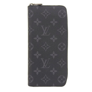 LOUIS VUITTON Monogram Eclipse Zippy Vertical M62295 Leather Wallet