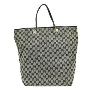 GUCCI Gucci Shoulder Bag GG Gray Ladies