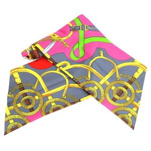 HERMES Hermes Scarf Multicolor Ladies Silk