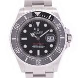 ROLEX Rolex Seedweller MK1 Dial 126600 Men's Stainless Steel Watch Automatic Black