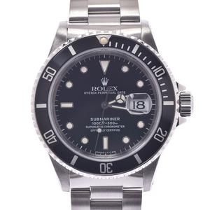 ROLEX ロレックス サブマリーナ 黒ベゼル 16610 メンズ ステンレススチール 時計 自動巻き 黒文字盤