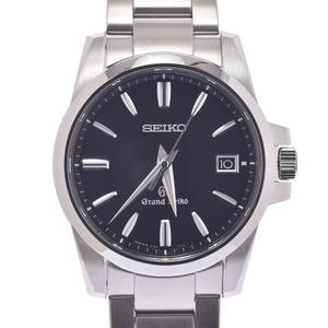 SEIKO セイコー グランドセイコー SBGX055 メンズ ステンレススチール 時計 クォーツ 黒文字盤