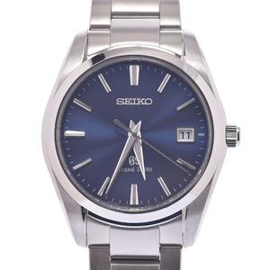 SEIKO セイコー グランドセイコー SBGX065 メンズ ステンレススチール 時計 クォーツ 青文字盤