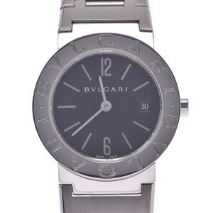 BVLGARI ブルガリ ブルガリブルガリ26 BB26ステンレススチール レディース ステンレススチール 時計 クォーツ 黒文字盤