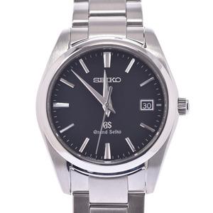 SEIKO セイコー グランドセイコー SBGX061 メンズ ステンレススチール 時計 クォーツ 黒文字盤