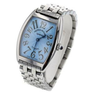 Franck Muller Watches Tonow Carbex Quartz 1752QZ 8270 Stainless Ladies