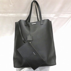 Saint Laurent 467946 Black Leather Bag Tote Men