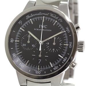 IWC Men's Watch GST Chronograph Quartz IW372702 Black Dial