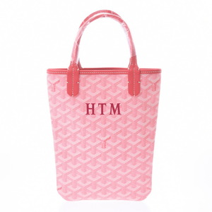 Goyard Poitiers Mini Pink Ladies PVC Leather Handbag