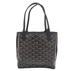Goyard Anju Mini Reversible Handbag Black Leather Bag