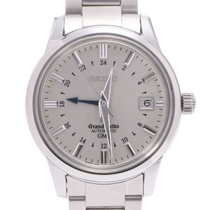 SEIKO セイコー グランドセイコー メカニカルGMT SBGM007 9S56-00B0 メンズ ステンレススチール 時計 自動巻き シルバー文字盤