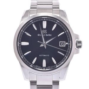 SEIKO セイコー グランドセイコー SBGR257 メンズ ステンレススチール 時計 自動巻き 黒文字盤