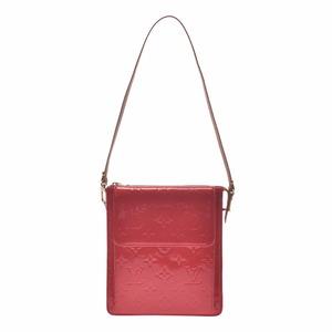 Louis Vuitton Vernis Mott Rouge M91137 Ladies Monogram Shoulder Bag