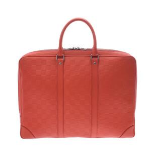 Louis Vuitton Damier Infini Voyage Fusion N41143 Men's Leather Business Bag
