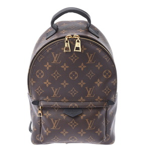 ルイ・ヴィトン(Louis Vuitton) LOUIS VUITTON ルイヴィトン モノグラム パームスプリングスPM  ブラウン 黒 M44871 レディース リュック・デイパック