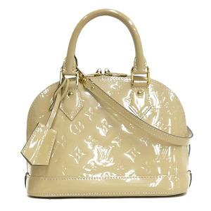 Louis Vuitton Handbag Alma BB 2WAY Bag Vernis M90064 Rose Angelique Beige Ladies