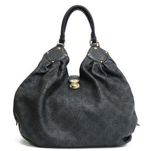 LOUIS VUITTON Shoulder Bag Mahina M93981 Black Ladies