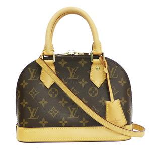 LOUIS VUITTON Shoulder Bag Alma BB 2WAY Monogram M53152 Brown Ladies