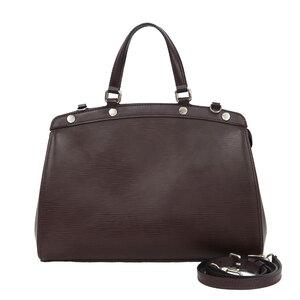 LOUIS VUITTON Shoulder Bag Epi Blair MM M40965 Ketsch Brown Ladies