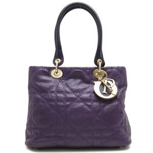 Christian Dior Metropole Canage Ladies Handbag M06060BCL Coated Canvas Purple