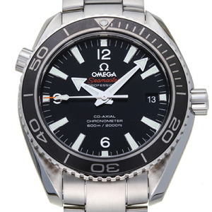 Omega Seamaster Planet Ocean 600M Coa Axial 42MM Men's Watch 232.30.42.21.01.001 Stainless Steel Black Arabian Dial