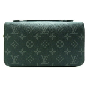 Louis Vuitton Zippy XL Men's Wallet M61698 Monogram Eclipse Canvas