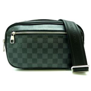 Louis Vuitton Ambler Men's Shoulder Bag N41289 Damier Graffit Canvas
