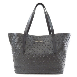 Jimmy Choo Star Embossed Tote Bag Leather Unisex