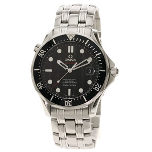 Omega 212.30.41.20.01.002 Seamaster Watch Stainless Steel Men