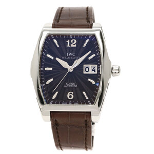 IW452306 Da Vinci Watch Stainless Steel Leather Men's
