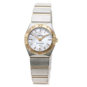 Omega 123.20.24.60.05.00 Constellation Blush Watch Stainless Steel K18PG Ladies