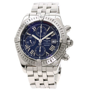 Breitling A13356 Chronomat Evolution Watch Stainless Steel Men's