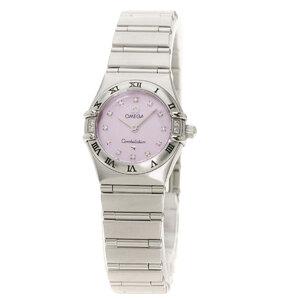 Omega 1567.66 Constellation 12P Diamond Watch Stainless Steel Ladies
