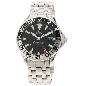 Omega 2234.5 Seamaster Watch Stainless Steel Men