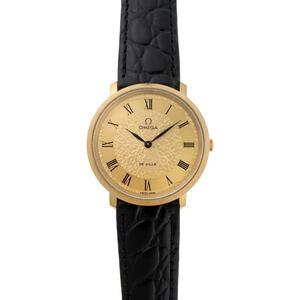 OMEGA Omega DE VILLE Devil Manual winding Cal.625 111.0107 Gold dial plating Stainless steel watch