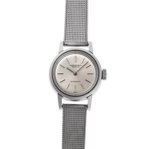 IWC International Watch Round Automatic Cal.C44 Silver Dial Stainless Steel