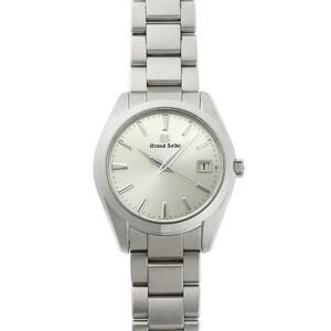 SEIKO Grand Seiko GS Heritage Quartz SBGV221 9F82-0AF0 Silver Dial Stainless Steel Watch