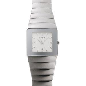 RADO Rado Diamond Star Sintra Quartz R13432142 152.0432.3 Silver Dial CE Titanium Watch