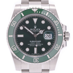 ROLEX Rolex Submariner 116610LV Men's Stainless Steel Watch Automatic Green Dial
