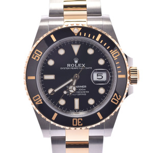 ROLEX Rolex Submariner Date 126613LN Men's K18 Yellow Gold Stainless Steel Watch Automatic Black Dial