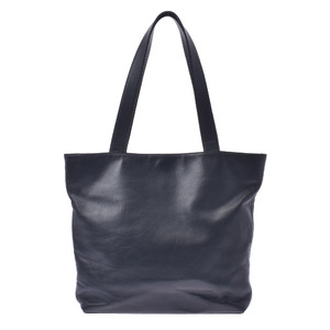 CHANEL logo black ladies calf tote bag