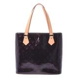 LOUIS VUITTON Louis Vuitton Verni Houston Tote Bag Amarant M91999 Ladies Monogram Handbag