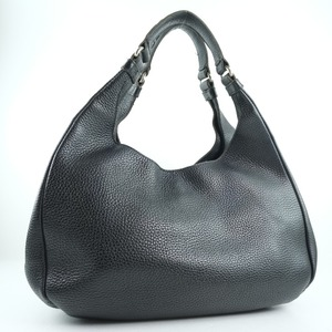 BOTTEGAVENETA Bottega Veneta Intrecciato Calf Black Ladies Handbag