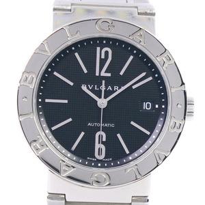 BVLGARI Bvlgari BB38SS AUTO Stainless Steel Self-winding Men's Black Dial Watch