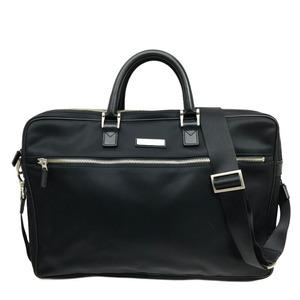 Burberry Business Bag 2WAY Black Women's Men's