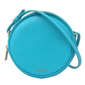 Furla Yoyo Shoulder Bag Leather Blue